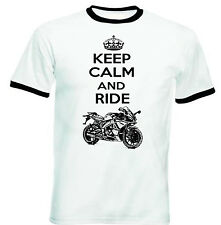 APRILIA SONIC GP 50 INSPIRED KEEP CALM P - COTTON TSHIRT-ALL SIZES IN STOCK