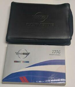 1996 CHEVROLET CORVETTE OWNERS MANUAL COUPE CONVERTIBLE V8 5.7L GRAND SPORT OEM