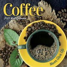 COFFEE - 2022 WALL CALENDAR - BRAND NEW - 40075