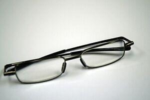 Foster Grant Gavin folding rectangular reading glasses [ 2.75 ] NEW