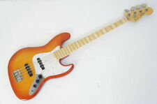 AS-IS FENDER JAZZ BASS JB-75 Made in Japan Cherry Sunburst Free Ship 334v05