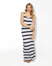 Striped Viscose Regular Casual Dresses for Women