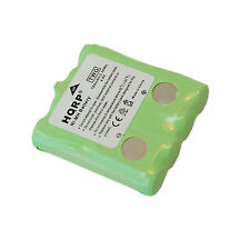 4.8v Ni-MH Battery Pack Replacement for Cobra PR255-VP  PR260-WX Two-way Radio
