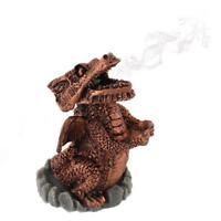 Red Dragon Incense Cone Holder - Mystic Magic Wicca - Incense Burner Fragrance