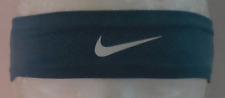 Nike Girl's Fury Headband 2.0 Color Noise Aqua/White Size Osfm