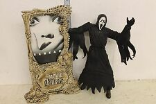 "McFarlane Movie Maniacs Scream ""Ghostface"" Figure LOOSE white"