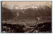 C.M. Czichna, Austria, Innsbruck von Sillthal  Vintage albumen print. Tampon sec