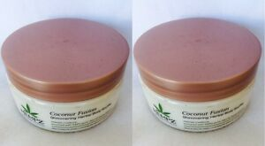 2 Hempz Coconut Fusion Shimmering Herbal Body Soufflé 8 oz