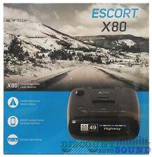 New listing Escort X80 Long Range Radar / Laser Detector With 12V Smartcord Mute Escort Live