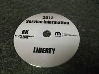 2012 Jeep Liberty OEM Shop Service Repair Manual CD Sport Limited Jet 3.7L V6