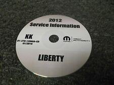 2012 Jeep Liberty OEM Shop Service Repair Manual CD Sport Limited Jet 3.7L V6