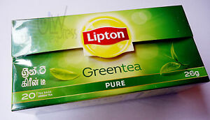 Green tea Lipton 40TEA BAGS