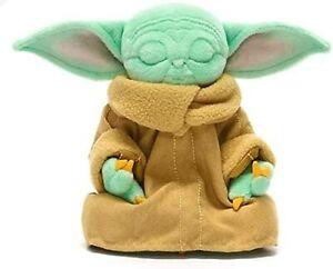 NEW Disney The Mandalorian The Child Grogu Meditating 16cm Baby Yoda Bean Bag