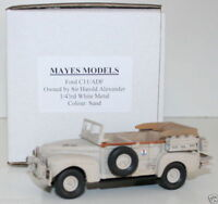 MAYES MODELS 1/43 FORD C11/ADF 1943 SIR HAROLD ALEXANDER STAFF CAR
