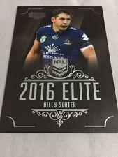 Billy Slater 2016 NRL Elite Traders Melbourne Storm Rugby League Card