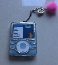 Apple iPod Nano 3rd Gen 3G Diamante Bling Hard Crystal Case Cover NEW