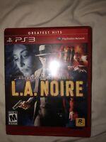 L.A. Noire Greatest Hits PS3 Playstation 3 L1k3N3w Rockstar Games 2011 Mystery