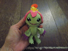 DIGIMON PALMON Collectible Mini Plush Figure Zag Toys Green pink flower Doll HTF