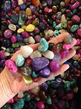 5 lb Large Tumbled Stones, Assorted mix bag ,Reiki Stones,Medicine Bag ,