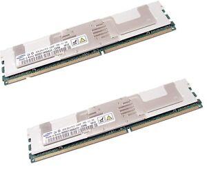 64GB 8x8GB DDR2-667 PC2-5300F Fully Buffered ECC Reg 240-p Memory RAM 4 MAC -HP