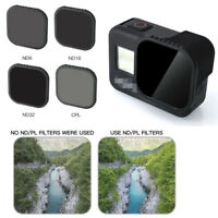Camera Lens Filter Polarized Dimming for GoPro Hero 8 Black Action Sports Camera