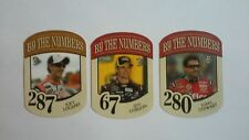 2010 NASCAR Lot of 3 Press Pass By The Numbers Target Diecuts ~ Gordon ~ Stewart