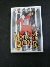 Monkey Bone Monkeybone Geek 2001 Movie Pin Back Button Ships in 24 hours!