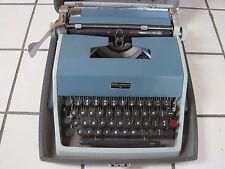 Vintage Olivetti Underwood Model 21 Typewriter w/ Hard Case - Very Clean