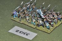 25mm ACW / confederate - battalion 24 figures - inf (25166)