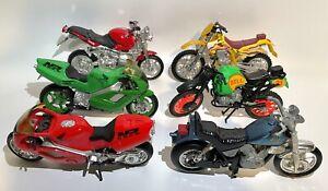 Road Champs Motorcycles including Honda NR, BMW, Harley Davidson, Kawasaki, Bell