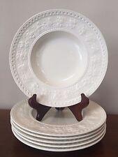 Wedgwood WELLESLEY Rim Soup Bowls ~ Set of 6