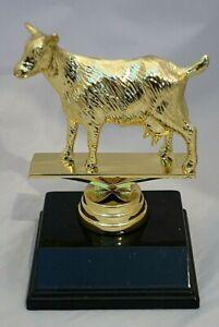 Goat Trophy 120mm Engraved FREE