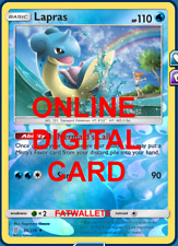 1X Lapras 36/236 Unified Minds Pokemon TCG Online Digital Card