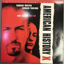 American History X Laserdisc (Image Entertainment, 1999) Widescreen Ld Ntsc Usa
