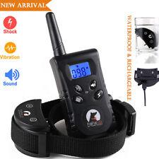 PaiPaitek Rechargeable Waterproof 500 Yard Remote Pet Dog Training Collar PD520S