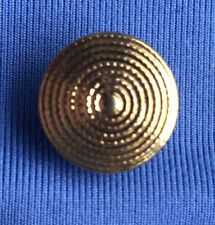 """1/2"""" Gold Tone Metal Sewing on Buttons 8 Pcs #B127"""
