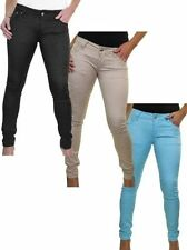 Unbranded Cotton Coloured Regular Size Jeans for Women