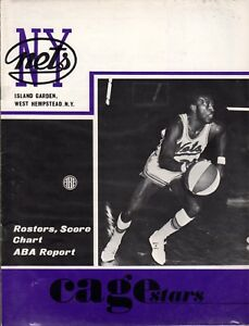 February 27 1970 New York Nets vs Miami Floridians ABA Program