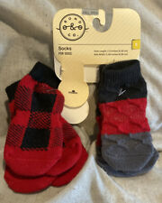 New listing Socks for Dogs * Bond & Co. 4-pairs Medium Dogs 2.5� L x 2.38� W *New