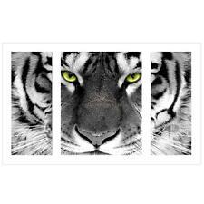 Full Drill Tiger DIY 5D Diamond Rhinestones Cross Stitch Kit Painting Decor New