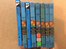 Hardy Boys Lot of 8 Mysteries 8  9 12 14 15 19 20 25