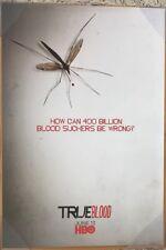 TRUE BLOOD TV POSTER 1 Sided RARE ORIGINAL 27x40 ANNA PAQUIN STEPHEN MOYER