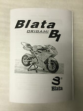 New Blata B1 Midi Moto Origami Owners Manual