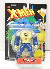 Strong Guy X-Men Action Figure Toy Biz NIP 1996 Rare short card variant version