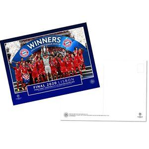 Bayern v PSG 2020 Champions League Final UEFA Postcard Range