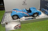 DELAHAYE TYPE 145 V12 GRAND PRIX 1937 cabriolet bleu 1/18 d Minichamps 107116100