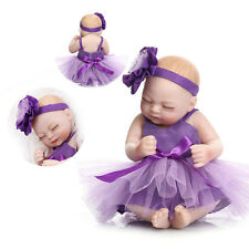 10'' Newborn Lifelike Baby Girl Doll Soft Vinyl Realistic Reborn Baby Dolls GIFT