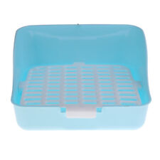 2 Layers Rabbit Cage Litter Box Potty Trainer for Guinea Pig Small Pet