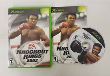 Knockout Kings 2002 (Microsoft Xbox, 2002) With Manual Fast Shipping