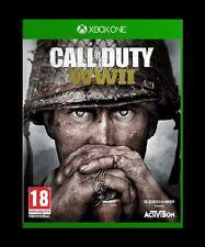 CALL OF DUTY WWII WW2 COD World War 2 II - XBOX ONE -  No Cover!